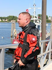 Another member of the Perth Amboy Dive Team.