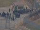 Police staged inside the prison during the hostage