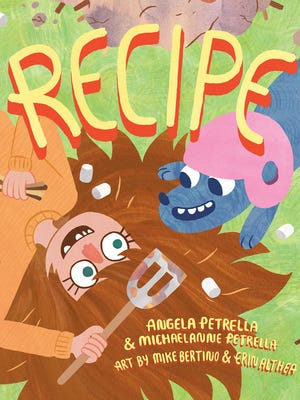 The kids' book 'Recipe' follows a girl on a quest to make the perfect dish.