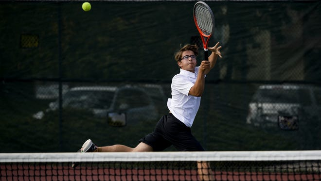 The Rocky Mountain boys tennis team hosts Greeley West on Monday.