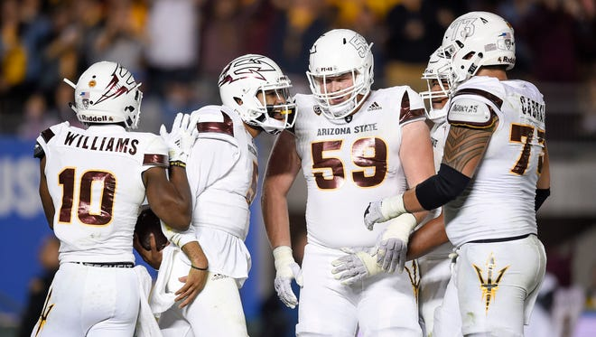 Manny Wilkins and the Sun Devils will become eligible for a bowl if they beat Oregon State.