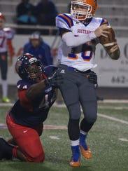 South Panola's O'bryan Goodson forces Southaven Quarterback