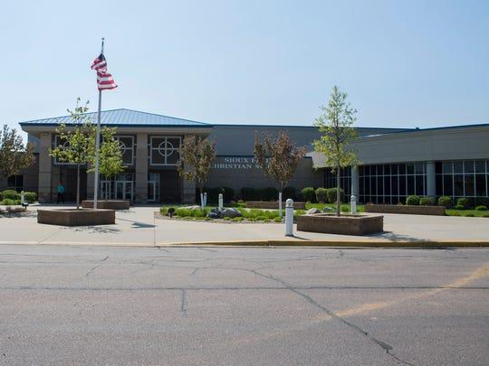 Sioux Falls Christian Schools building mug in Sioux