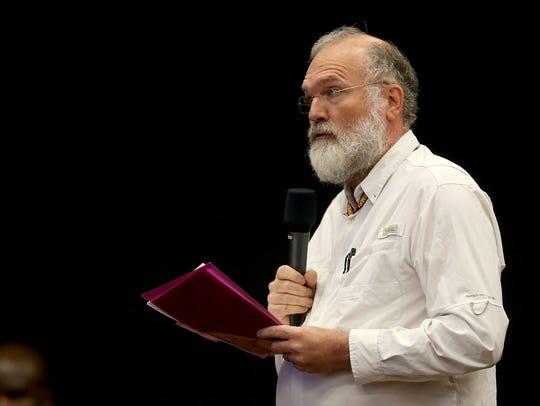 Greg Boebinger, director of the National High Magnetic
