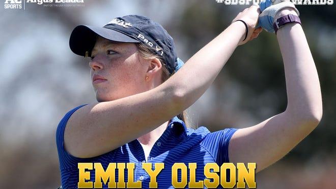 Girls golf: Emily Olson, O'Gorman