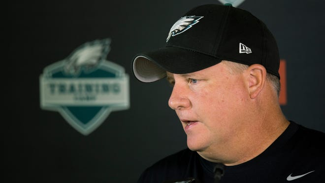 """""""It's not as big an issue as I think everyone has made it out to be,"""" said Eagles coach Chip Kelly on running back LeSean McCoy's injured toe."""