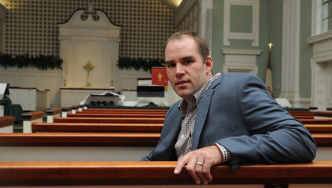 Jason Link is the new pastor at First Presbyterian Church.