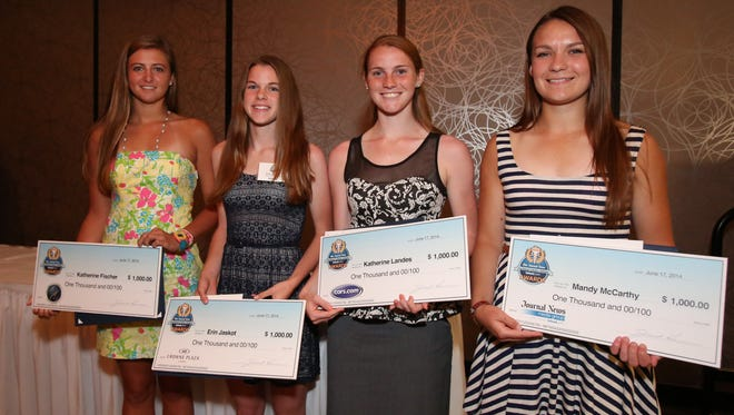 The Journal News Rockland Scholar-Athlete dinner at the Crowne Plaza in Suffern June 17, 2014.
