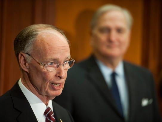 Alabama Governor Robert Bentley appoints Attorney General