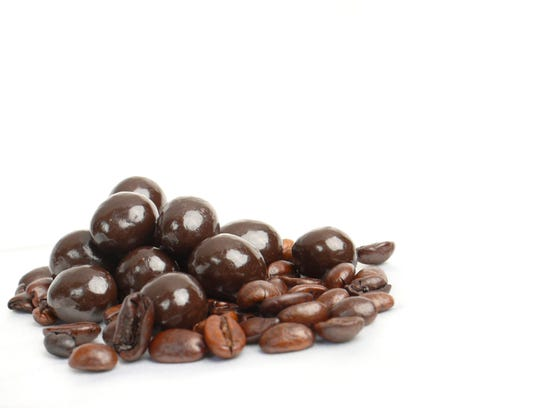 Chocolate-covered espresso beans are a perfect sweet