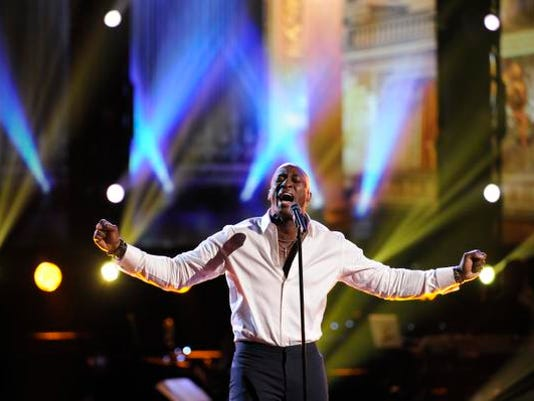 "Jermaine Paul on ""The Voice"""