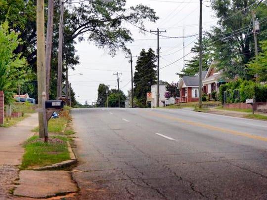 Woodside Avenue in City View.