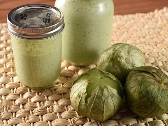 Try Creamy Tomatillo Dressing on salads, vegetables,