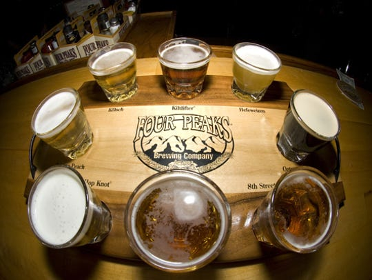 Four Peaks Brewery offers an array of locally brewed
