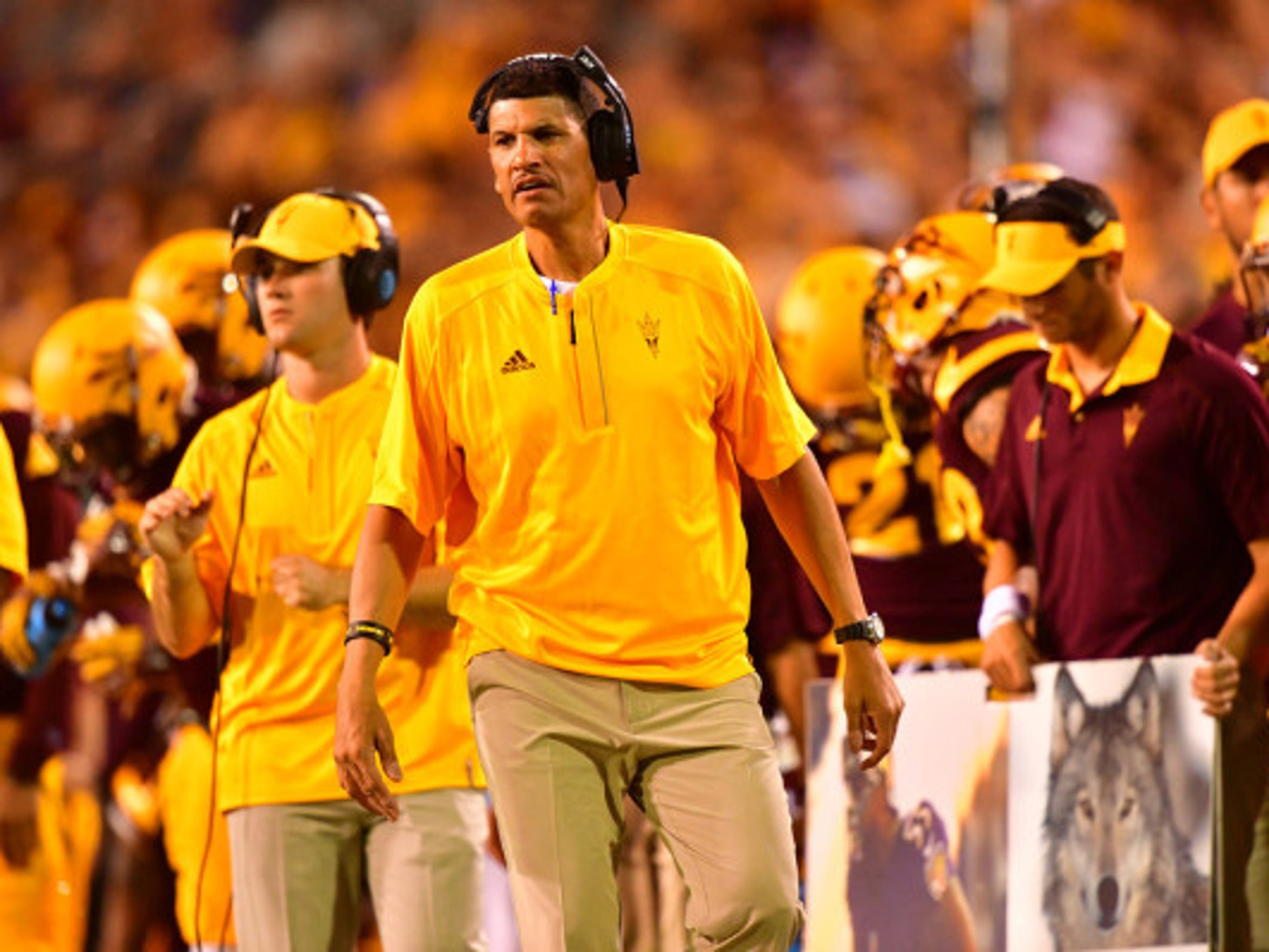 Jay Norvell worked at several Pac-12 schools, including
