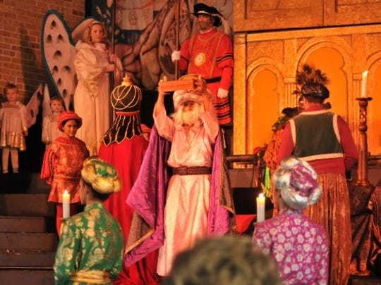 The 35th annual Boar's Head & Yule Log Festival will be presented three times on Saturday at First Christian Church.