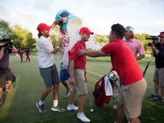 Braden Thornberry gave Ole Miss its first national championship, individual or team, in golf.