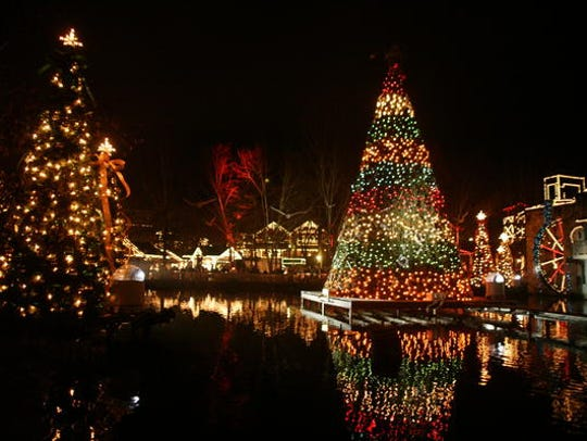 Dollywood's Smoky Mountain  Christmas is filled with
