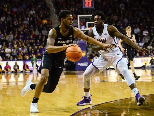 NCAA Basketball: Xavier at Northern Iowa