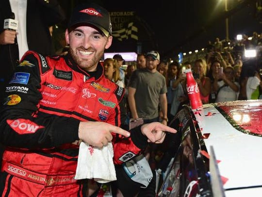 DAYTONA BEACH, FL - FEBRUARY 18:  Austin Dillon, driver