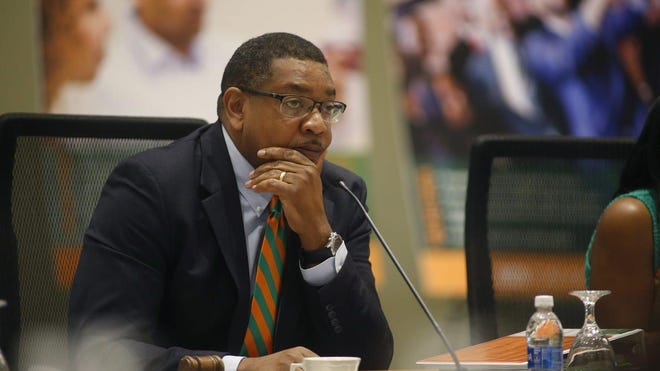 Florida A&M's Board of Trustees chair and Board of Governors Special Committee on Athletics Kelvin Lawson said the athletics budget was approved before the department anticipated playing fall football.