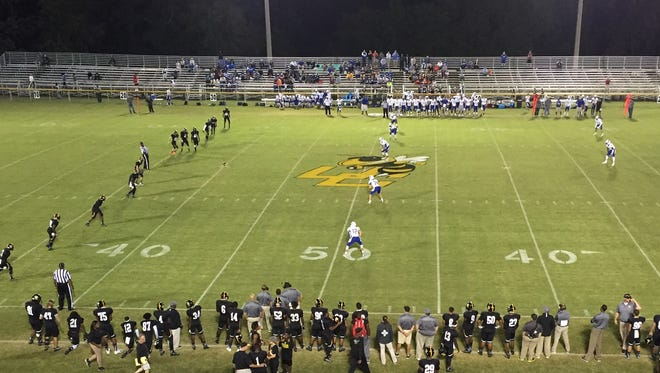 Union County defeated Eastside 34-15 Friday night in the Region 2-AAAA opener for both teams at the Union County Fairgrounds.