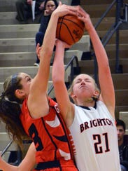 Brighton's Julianna Pietila shot 41% from 3-point range