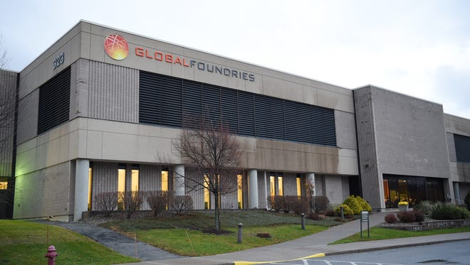 Building 323 at GlobalFoundries' East Fishkill plant.