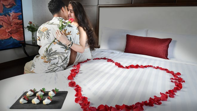 Matthew Topasna and Alissa Eclavea take their long term relationship to the next level, with a romantic staycation in the Dusit Thani presidential suite on Jan. 12.