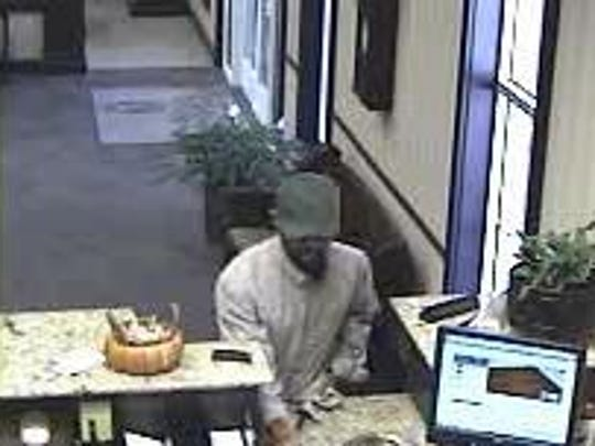 The bank robbery in Smyrna is believed to be connected