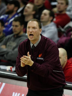 N.E.W. Lutheran head coach Mark Meerstein led his team to the state tournament for the fifth time in six seasons.