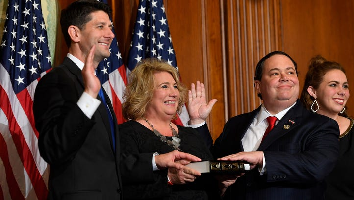 Rep. Blake Farenthold, R-Texas, and his wife Debbie