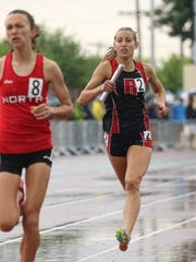 Rocori junior Carley Kremer is pictured here running in the state high school championships last June at Hamline University in St. Paul. She'll be a part of the Spartans' contingent heading to the state true-team championships Saturday in Stillwater.
