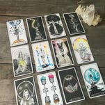 New weekly tarotscopes come out each Monday at 12thandbroad.com