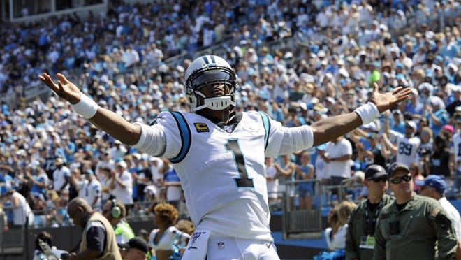 Former Carolina Panthers quarterback Cam Newton will be the 21st-highest paid quarterback in the NFL this upcoming season with the New England Patriots.