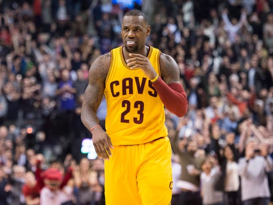 best service 0b014 a2411 LeBron James given day off as Cavaliers play at Wizards