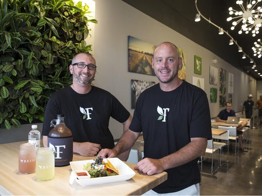 Owner Mike Nitto and Executive Chef Chris Burgess of Fresh Kitchen in Sea Girt have created healthy meal options that are full of flavor.