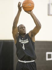 Vanderbilt freshman Maxwell Evans is a high-scoring