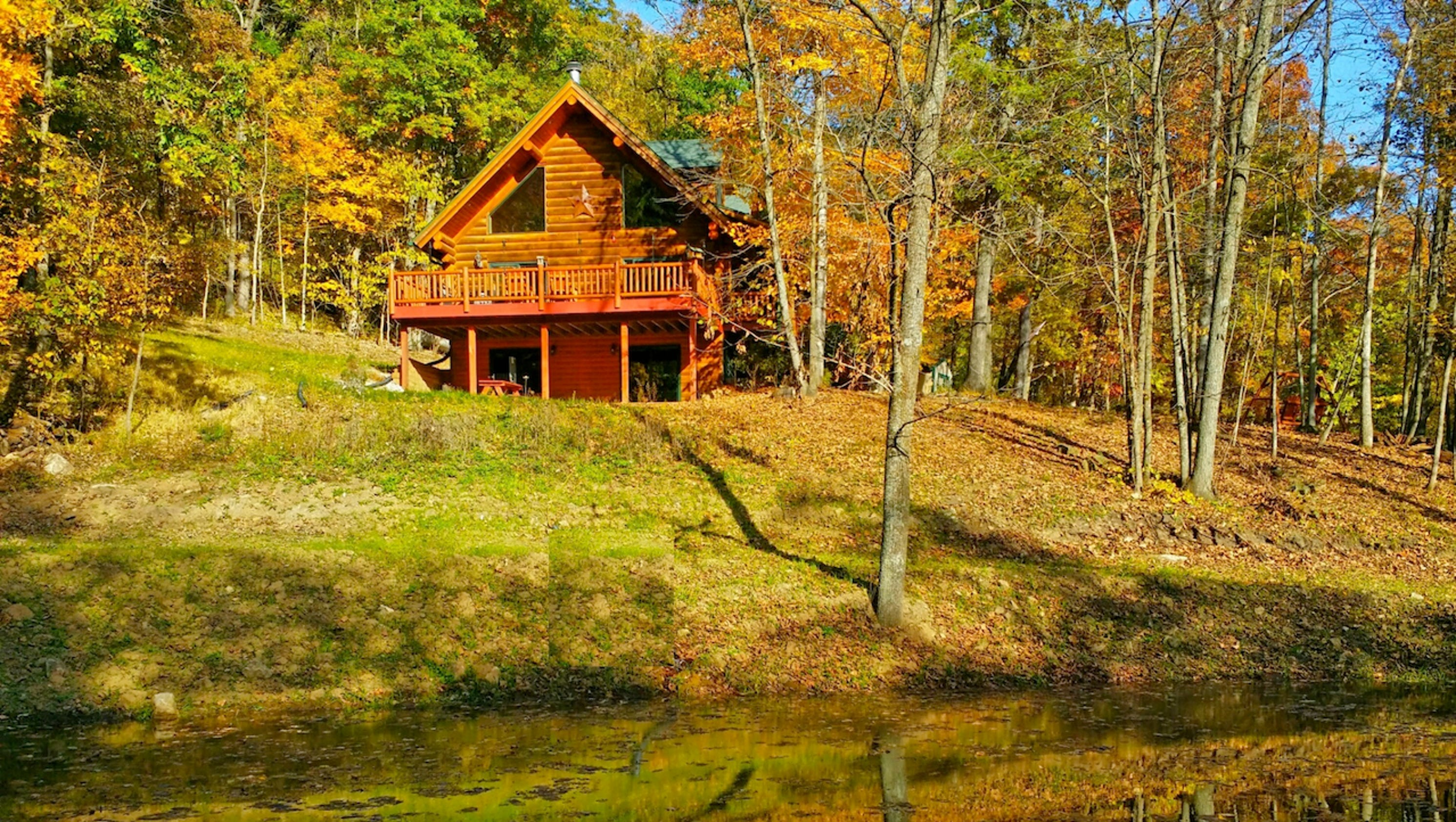 watch in iowa youtube ridge to cabins rent cabin timber hideaway with rentals
