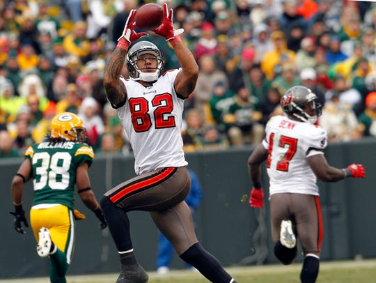 Kellen Winslow II starred with the Buccaneers after losing nearly two seasons to leg injuries early in his career.