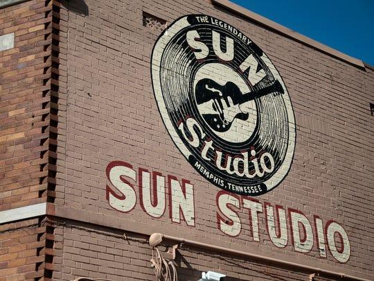 The Sun Studio building in Memphis on Feb. 3, 2017