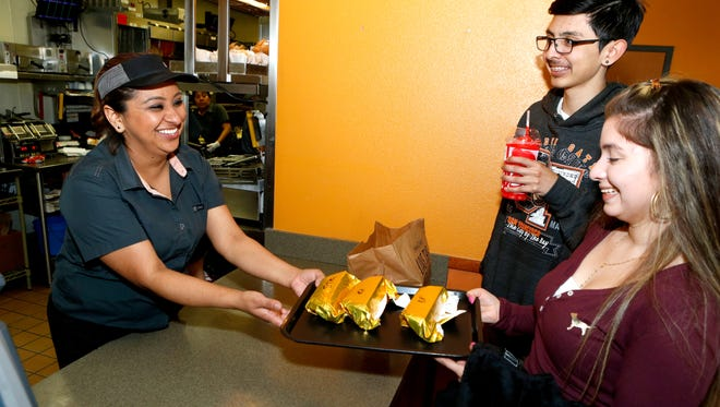 Fast food restaurants like Taco Bell have had to add calorie counts for all items to their menus.