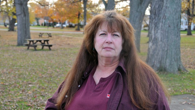 Linda Butler, of Carroll Township, says she will continue to fight for legalization of marijuana for people like herself who suffer from epilepsy and other medical conditions. Issue 3 was voted down in Ohio on Tuesday.