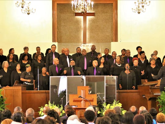 The choir from First Baptist Church – Broad in Memphis