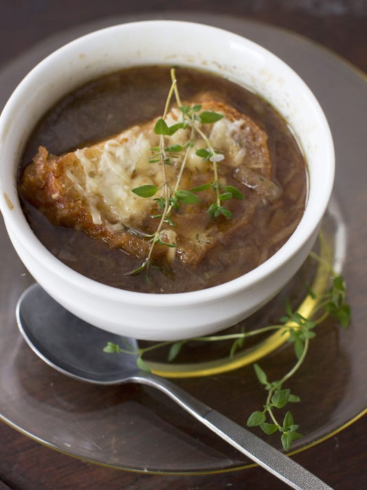Food Healthy Slow Cooker Onion Soup