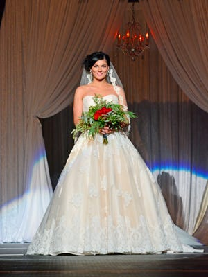 Kayla Campbell wearing Allure #9121.