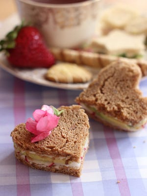 Treat your mom to a special Mother's Day tea party with these delightful sandwiches.