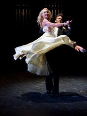 "Tristan MacManus and Iveta Lukosiute perform during a previous ""Life's A Dance"" benefiting Covenant Care. MacManus is back for this year's event at 6:30 p.m. Saturday at the Saenger Theatre."