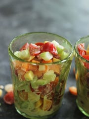 This back-to-school chopped salad is kid-friendly and healthy.