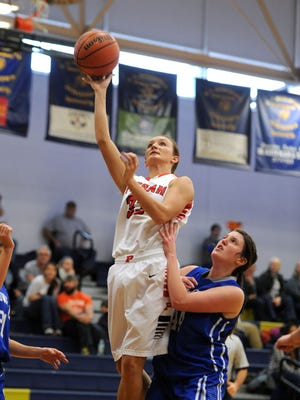 Pisgah senior Brooklyn Allen has committed to play college basketball for Appalachian State.